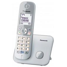 Panasonic KX-TG-6811 Dect 120 Rehber Caller Id Gümüş Alarm Telefon