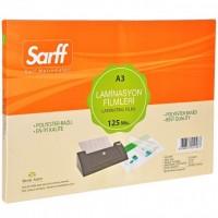 Sarff 15309031 Parlak Laminasyon Filmi A3 250 Mikron 50 Adet