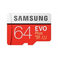 SAMSUNG MB-MC64HA/APC 64GB Evo Plus 100MB/s Class 10 UHS-1 Micro SD Kart