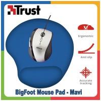 Trust 20426 Bigfoot Bilek Destekli Jel MousePad -Mavi