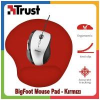 Trust 20429 Bigfoot Bilek Destekli Jel MousePad - Kırmızı