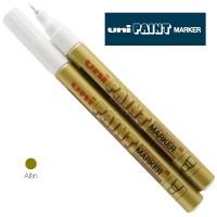 Uni PAINT MARKER ~0.8 Boyama Markörü PX-203 Altın