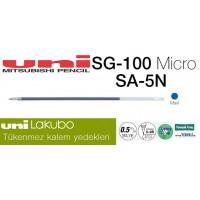 Uni LAKUBO 0.5 Tükenmez Kalem Yedeği SA-5N Mavi