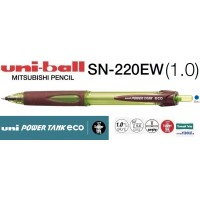 Uniball SN-220EW POWER TANK eco 1.0 Mekanik Dışortam Kalemi Mavi