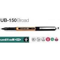 Uniball UB-150 EYE Broad 1.0 Roller Kalem Siyah