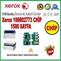Xerox 106R02773 CHİP New Firmware (Toner Kartuşu için), Phaser 3020, WorkCentre 3025